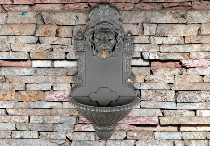 Fontane e fontanelle in ghisa da giardino terrazzi balconi vivai roma arredo giardini - Fontane antiche da giardino ...