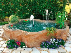 Bacini con bordo laghetto giardino bacino colorazione for Laghetto tartarughe esterno