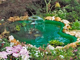 Laghetti ornamentali giardino accesori giochi d 39 acqua for Laghetti termoformati